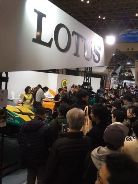 東京オートサロン ロータス