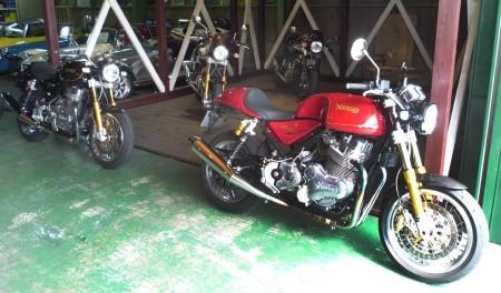 Norton Motorcycles 試乗会