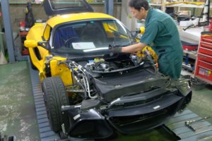 LOTUS EXIGE-S V6 納車整備-1